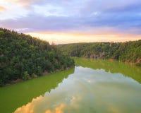 Сельская местность, Чешская Республика Стоковые Изображения