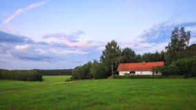Сельская местность, Чешская Республика Стоковое фото RF