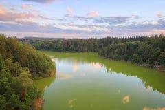 Сельская местность, Чешская Республика Стоковое Фото