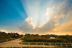 Сельская местность Стоковые Фотографии RF