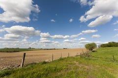 сельская местность fields ландшафт Стоковые Изображения