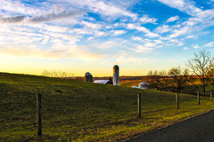 Сельская местность Franconia Стоковые Фото