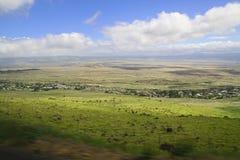 Сельская местность Hawaiin стоковое изображение