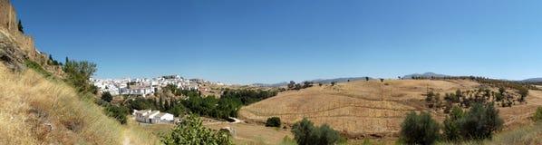 Сельская местность Ronda, Андалусия Стоковое Фото