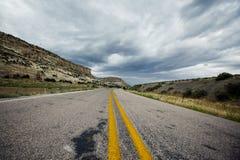 Сельская дорога, США Стоковое Изображение RF