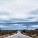 Сельская дорога Стоковое фото RF