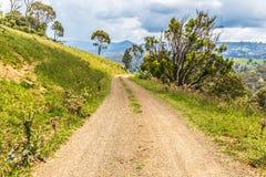 Сельская дорога, NSW, Австралия Стоковые Изображения RF
