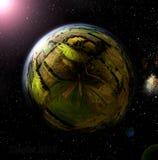 Сельская планета Стоковые Фото