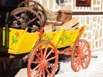 Сельская старая тележка Стоковая Фотография RF