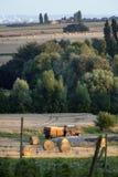 Сельская сцена в Франции Стоковая Фотография RF