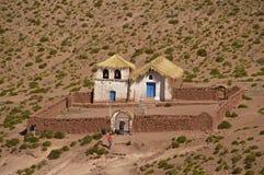 Сельская церковь в Чили Стоковое Фото