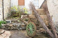 Сельская Sardinian тележка Стоковые Фотографии RF