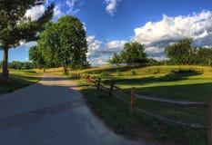 Сельские лета Стоковое Изображение
