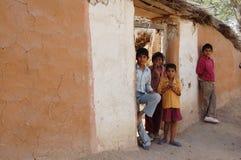 Сельские дети Стоковые Изображения