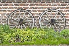 Сельские колеса телеги Стоковое Фото