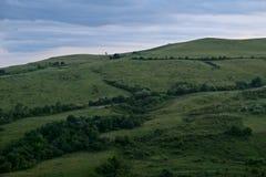 Сельские поля от моего детства Стоковая Фотография