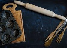 Сельские утвари кухни Стоковые Изображения