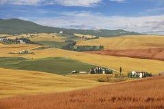Сельский ландшафт, Италия стоковое изображение