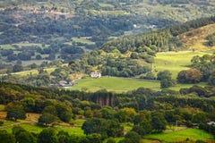 Сельский ландшафт сельской местности Стоковое Изображение