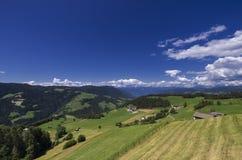 Сельский ландшафт Стоковое Изображение
