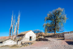 Сельский взгляд Боливии Стоковое Изображение