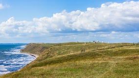 Сельский взгляд около Kaseberga Стоковые Изображения RF