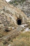 Сельский железнодорожный тоннель осенью Стоковые Изображения