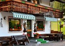 Сельский дом в итальянке Альпах Стоковое Изображение
