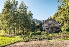 Сельский дом в Франции Стоковая Фотография RF