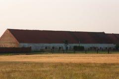 Сельский дом кирпича здания Стоковая Фотография