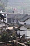 Сельский дом китайских деревень Стоковое Изображение