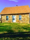 Сельский дом на славный грея на солнце день в Кентукки Стоковое Фото