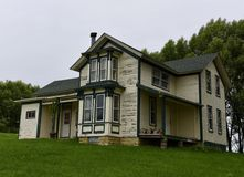 Сельский дом Italianate Стоковое Изображение RF