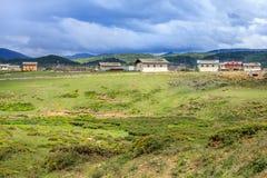Сельский пейзаж, Шангри-Ла Стоковая Фотография RF