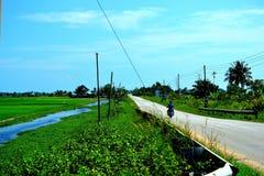 Сельский район Малайзии Стоковые Изображения RF