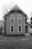 Сельский сельский дом Огайо стоковое фото