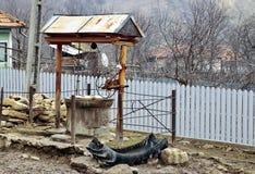 Сельский фонтан стоковое фото