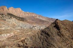 Сельское горное село Berber в Марокко Стоковое Изображение RF