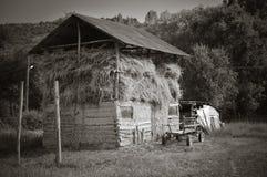 Сельское здание стоковые изображения rf