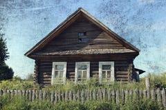 сельское дома старое Стоковое фото RF