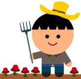 Сельское хозяйство гриба Стоковое фото RF