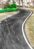 Сельское шоссе стоковое изображение
