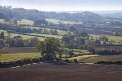 Сельское Gloucestershire Стоковое фото RF