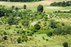 Сельское Lanscape. Стоковые Фото