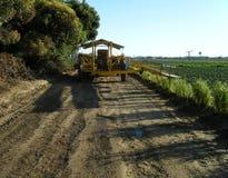 Сельскохозяйственное оборудование в после полудня Стоковые Фотографии RF