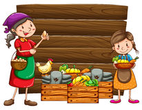 Сельскохозяйственные продукты Стоковые Фото