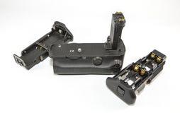 Сжатие и кассеты батареи Стоковое Изображение