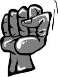 сжатый кулачок стоковая фотография rf