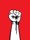 Сжатый кулак Стоковое Изображение
