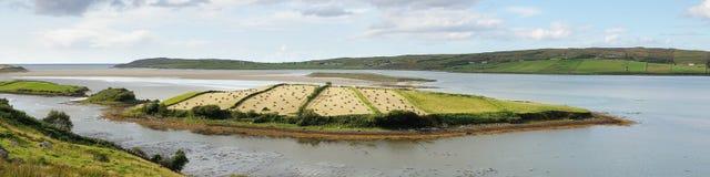 сжатый остров Стоковая Фотография RF